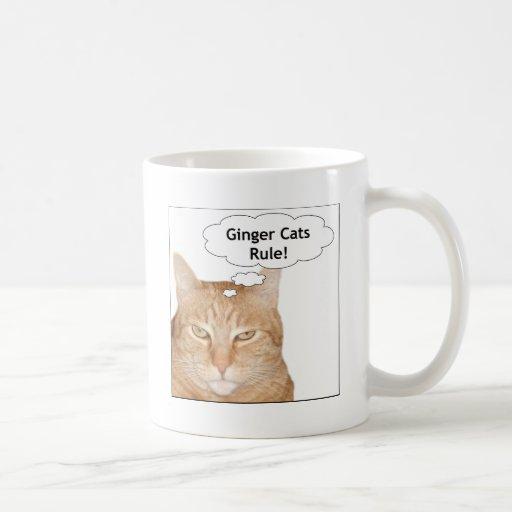 Ginger Cats Rule! Mugs