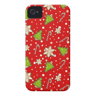 Ginger cookies Christmas pattern Case-Mate iPhone 4 Cases