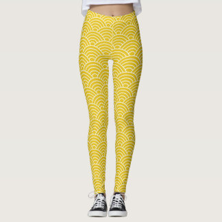 Ginger Fish Scales - Leggings