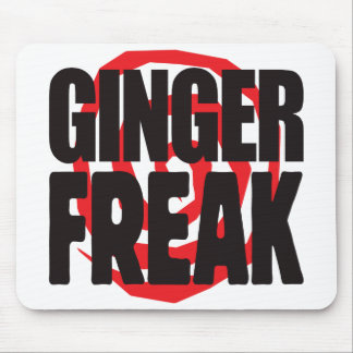 Ginger Freak Mouse Pads