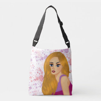 Ginger hair crossbody bag