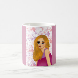 Ginger hair magic mug