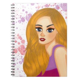 Ginger hair notebooks