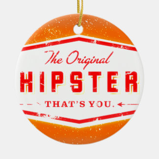 GINGER HIPSTER STYLE CERAMIC ORNAMENT