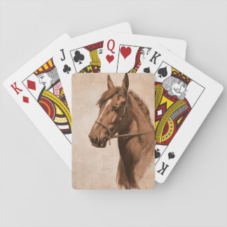 Ginger horse from Black Beauty Book Playing Cards