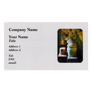 Ginger Jars and Buckets Pack Of Standard Business Cards