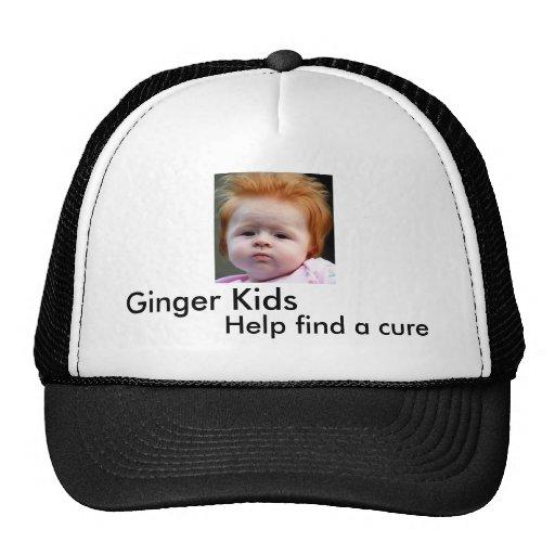 Ginger Kids, Help find a cure Trucker Hat