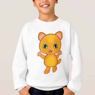 Ginger Kitten Cartoon2 Sweatshirt