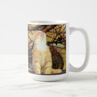 Ginger Kitten Painting Coffee Mug