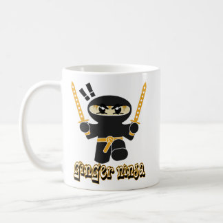 Ginger Ninja coffee mug ginga red-head