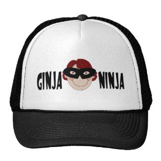 Ginger Ninja Trucker Hats