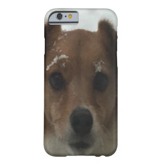Ginger Our Fox Terrier Rescue Dog Barely There iPhone 6 Case