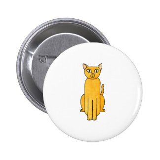 Ginger Red Shorthair Cat Pin