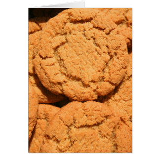 Ginger Snap Cookies Greeting Card,Note Card