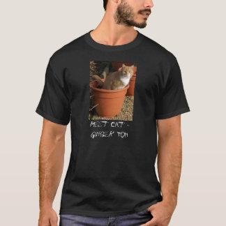 Ginger Tom Cat Man's T-Shirt