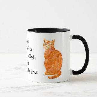 Ginger Tom Ringer Mug