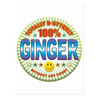 Ginger Totally Postcard