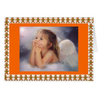Gingerbread Angel Card