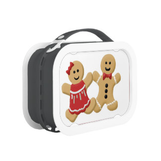 Gingerbread Boy and Girl Lunchbox