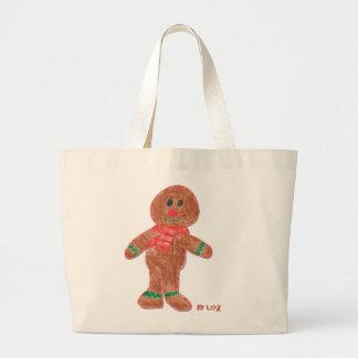Gingerbread Boy Bags