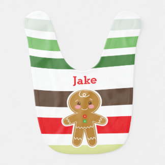 Gingerbread Boy | Christmas Bib