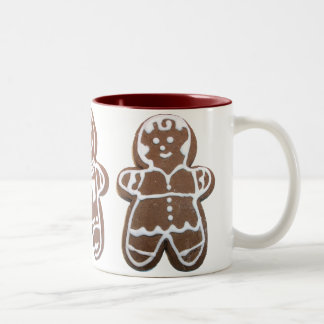 Gingerbread Boy Cookie Mug Mugs