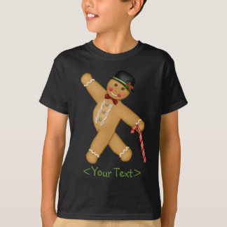 Gingerbread Boy - Customize T-Shirt