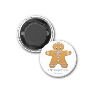 Gingerbread Boy Fridge Magnet