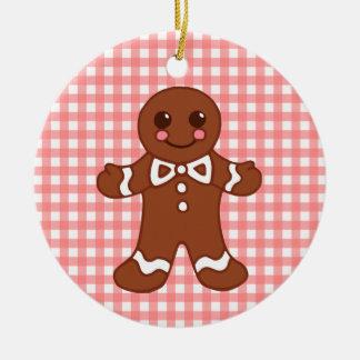 Gingerbread Boy Girl Ornament
