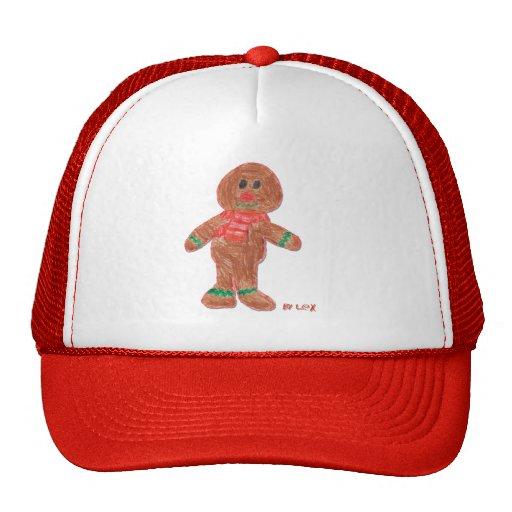 Gingerbread Boy Trucker Hat