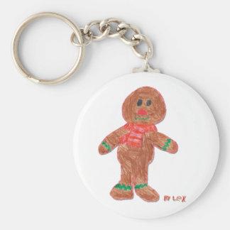 Gingerbread Boy Key Chains