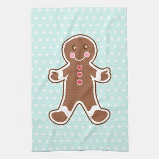 Gingerbread Boy Kitchen Towel