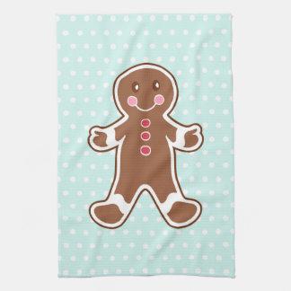 Gingerbread Boy Kitchen Towel