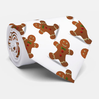 Gingerbread Boy Men's Tie