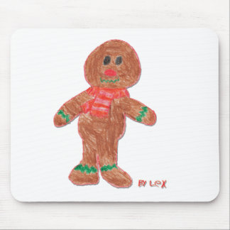Gingerbread Boy Mouse Pad