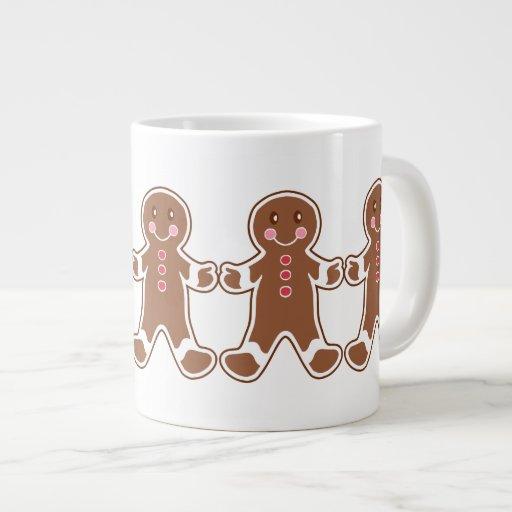 Gingerbread Boy Mug Extra Large Mugs