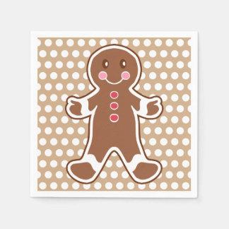 Gingerbread Boy Napkins Paper Serviettes