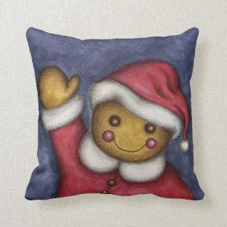 Gingerbread Boy Pillow Cushions
