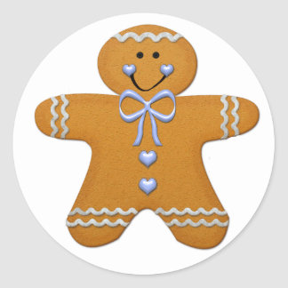 Gingerbread Boy Sticker