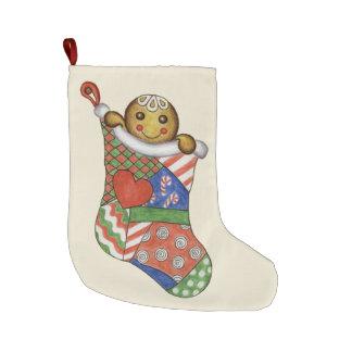 Gingerbread Boy Stocking Large Christmas Stocking