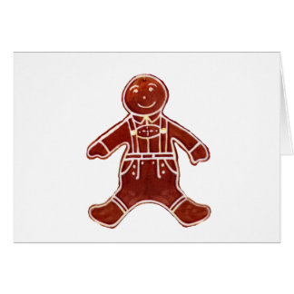 Gingerbread Boy The MUSEUM Zazzle Gifts Cards