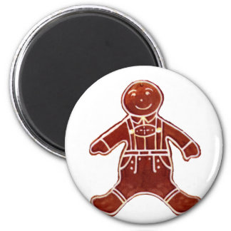 Gingerbread Boy The MUSEUM Zazzle Gifts Fridge Magnets