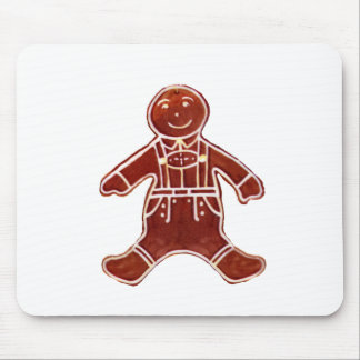 Gingerbread Boy The MUSEUM Zazzle Gifts Mouse Pads
