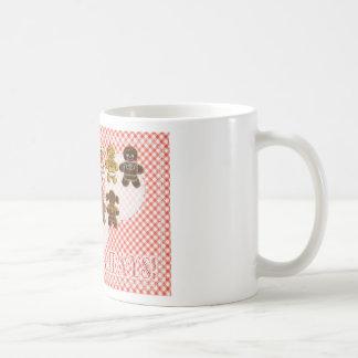 Gingerbread Boys and Girls Christmas Cookies Coffee Mugs