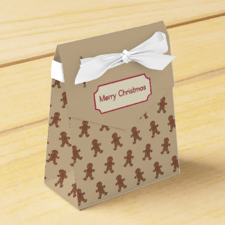 Gingerbread Boys Favor Box