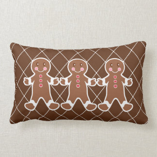 Gingerbread Boys Pillow