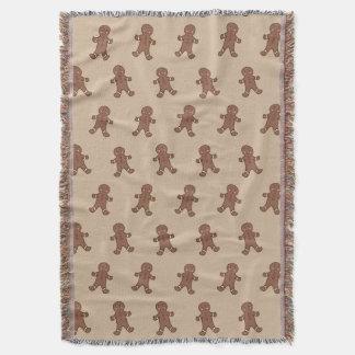Gingerbread Boys Throw Blanket