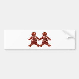 Gingerbread Children Boys The MUSEUM Zazzle Gifts Bumper Sticker