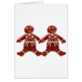 Gingerbread Children Boys The MUSEUM Zazzle Gifts Card