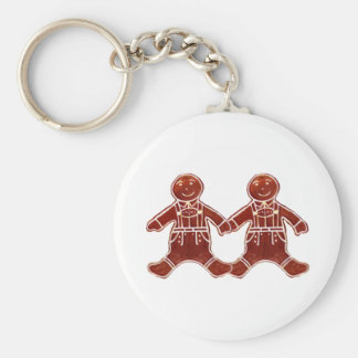 Gingerbread Children Boys The MUSEUM Zazzle Gifts Key Chain
